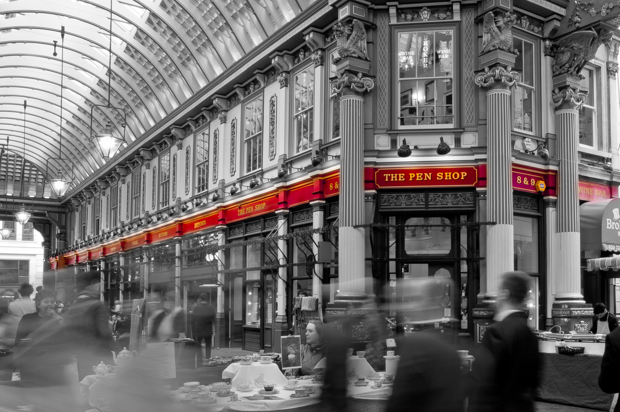 Moving: Leadenhall Market I